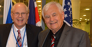 Tony Tanke and Professor Alexander Groth